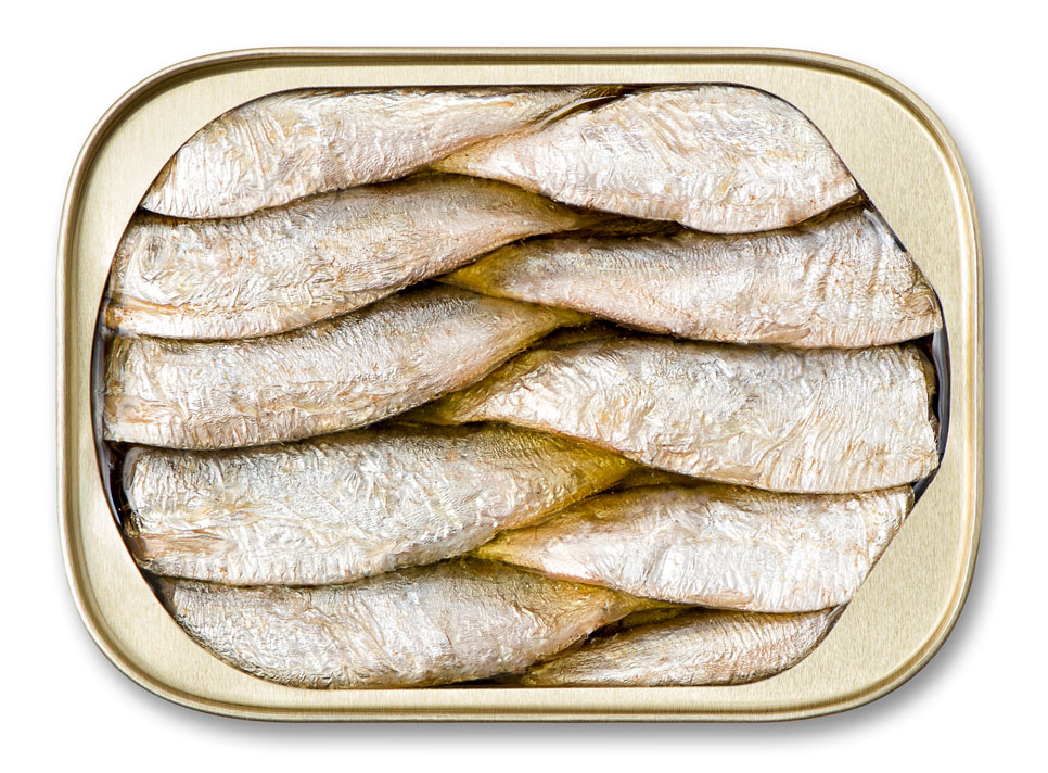 Brisling Sardines In Extra Virgin Olive Oil 2 Layer