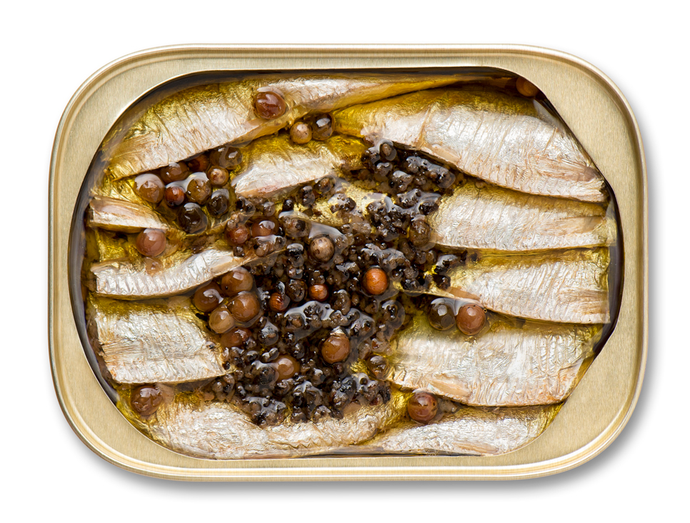 Brisling Sardines With Spicy Cracked Pepper King Oscar