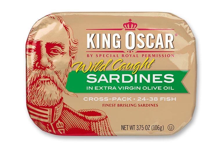 Brisling Sardines in Extra Virgin Olive Oil – Cross-Pack