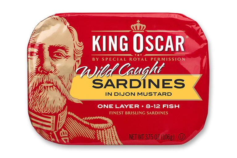 Brisling Sardines in Dijon Mustard