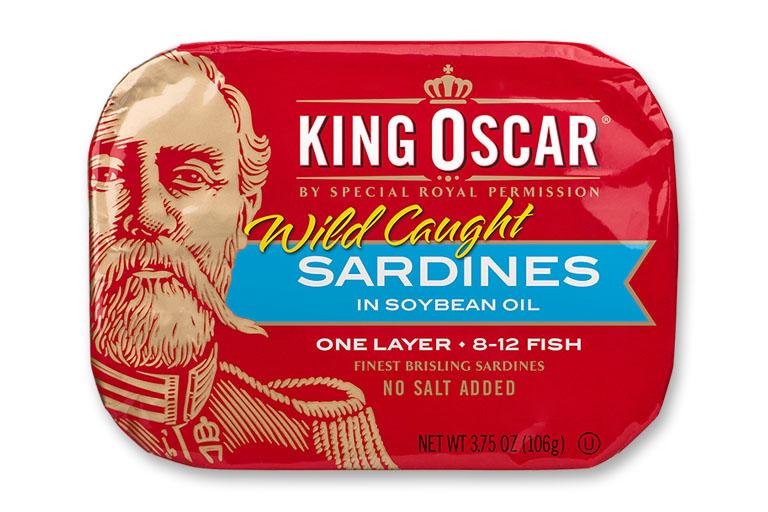 Brisling Sardines in Soybean Oil – No Salt Added