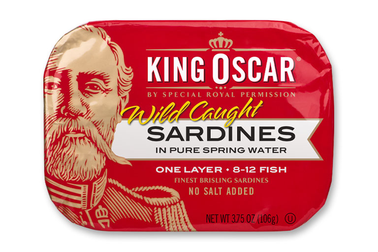Brisling Sardines in Pure Spring Water – No Salt Added