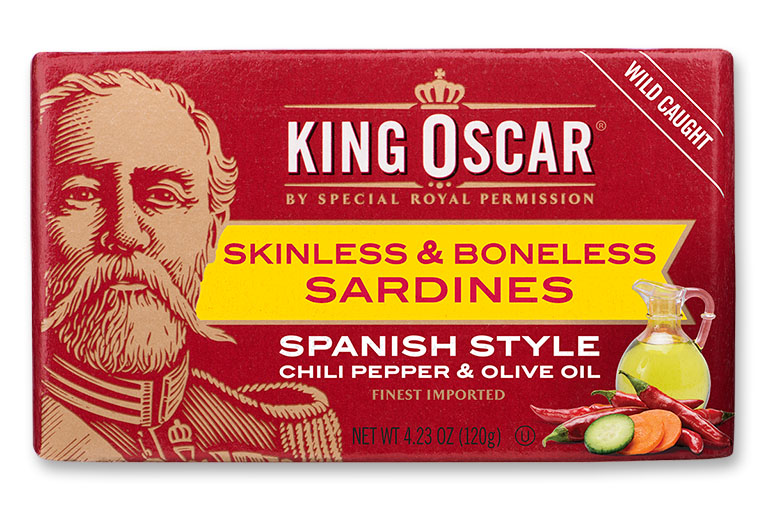 Skinless & Boneless Sardines Spanish Style