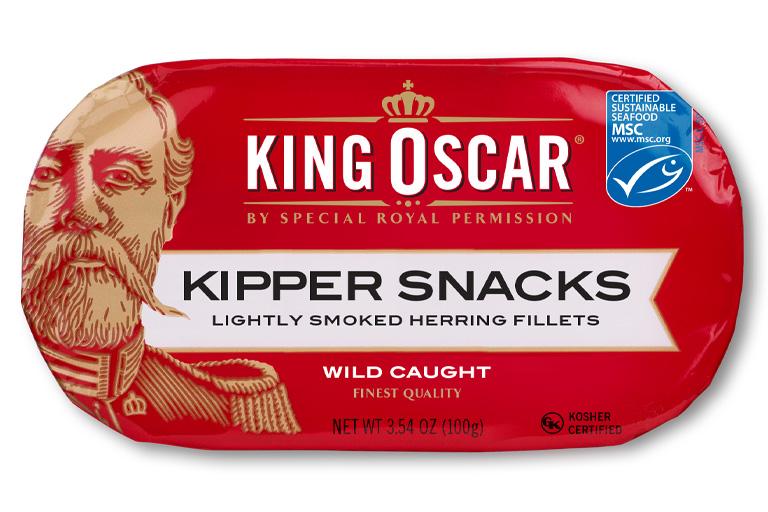 King Oscar Kipper Snacks