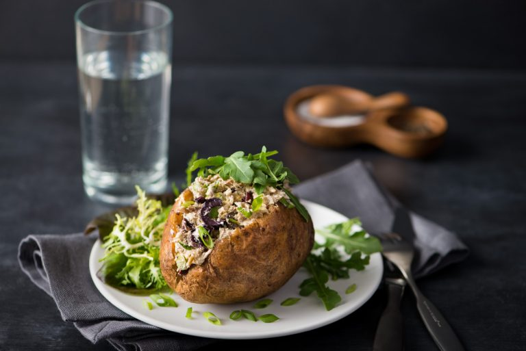 mackerel-stuffed-baked-potato
