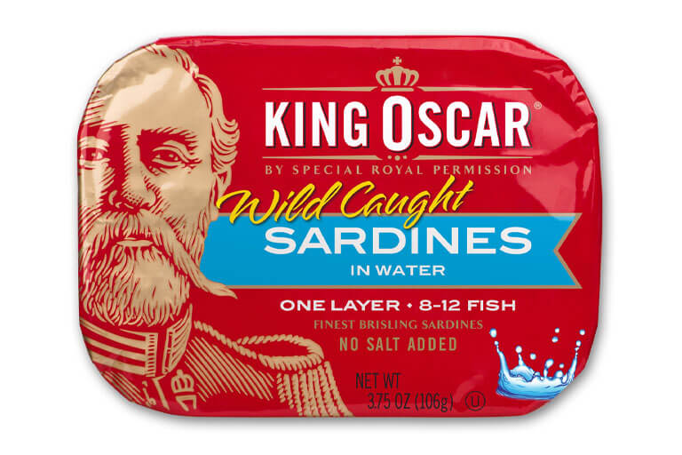 Brisling Sardines in Pure Spring Water – No Salt Added