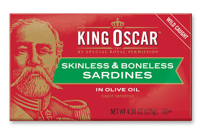 Skinless & Boneless Sardines in Olive Oil