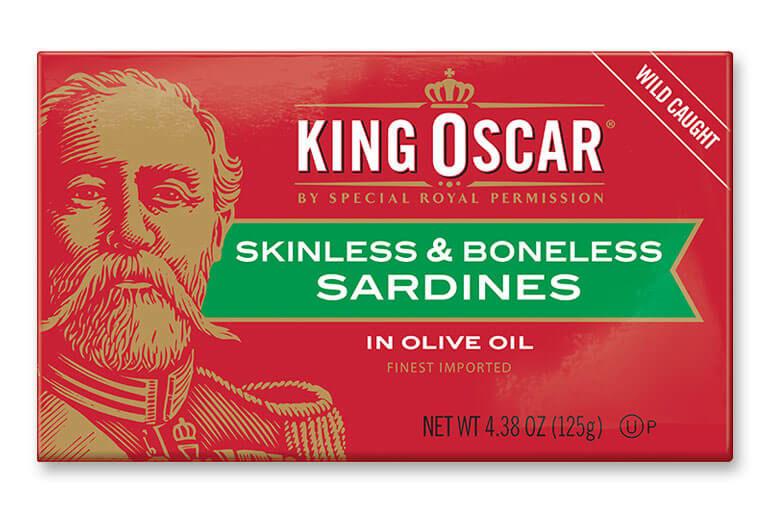 Skinless & Boneless Sardines in Olive Oil