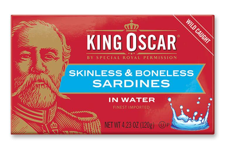 Skinless & Boneless Sardines in Water