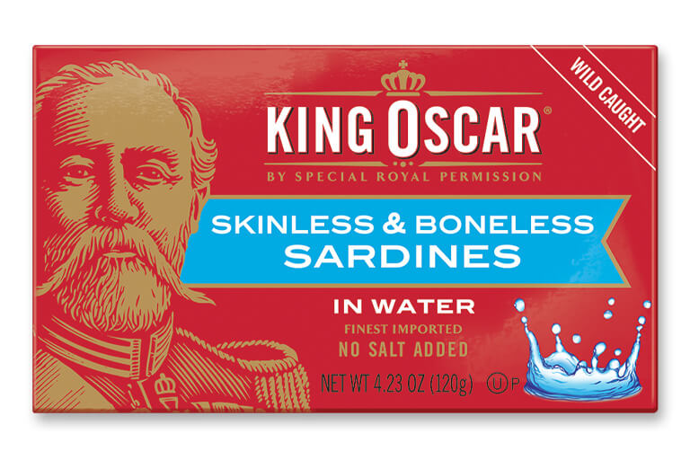 Skinless & Boneless Sardines in Water