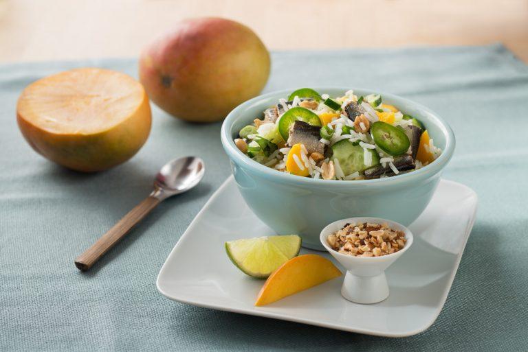 thai-style-sardine-and-mango-rice-salad
