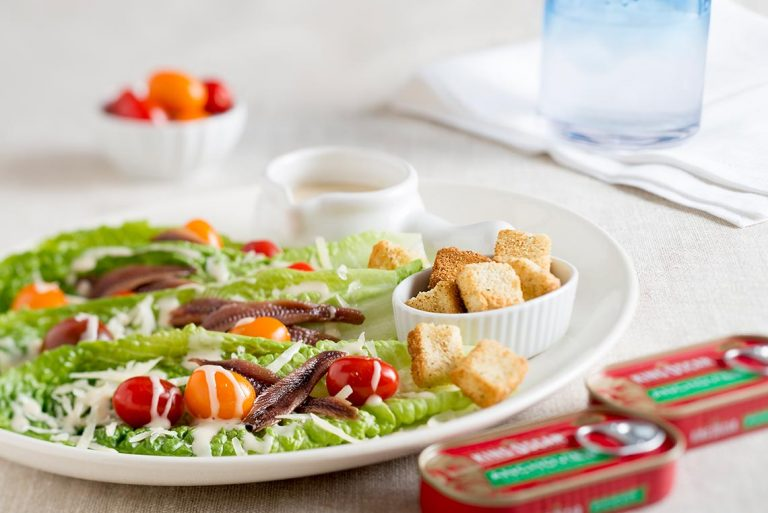 Caesar Salad with Anchovies Recipe