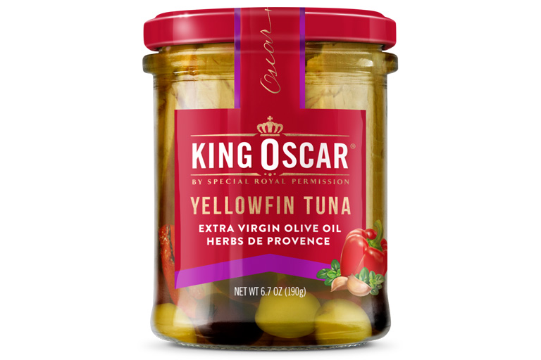 Yellowfin Tuna in Extra Virgin Olive Oil with Herbs de Provence