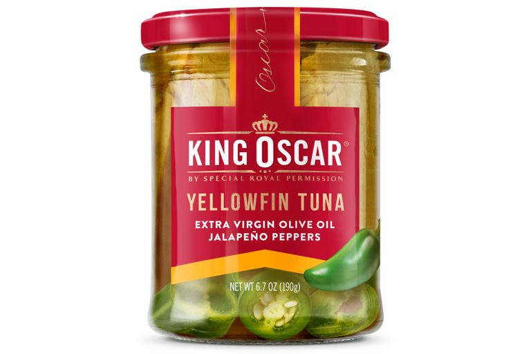 Yellowfin Tuna in Extra Virgin Olive Oil with Jalapeño Peppers