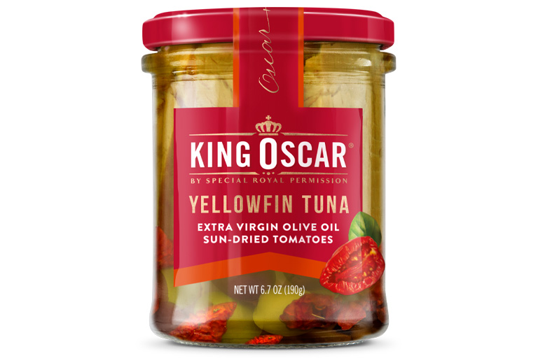 Yellowfin Tuna in Extra Virgin Olive Oil with Sun-Dried Tomatoes